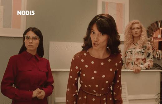 Реклама Модис — Рубашка (2019)