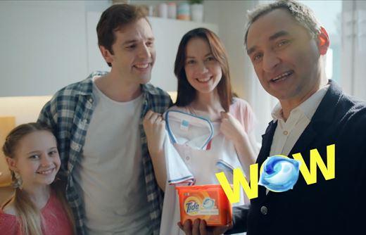 Реклама Tide — Капсулы всё в 1 Pods (2019)
