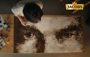 Реклама Jacobs Аромагия — Вдохновляет мечтать (картина) (2019)