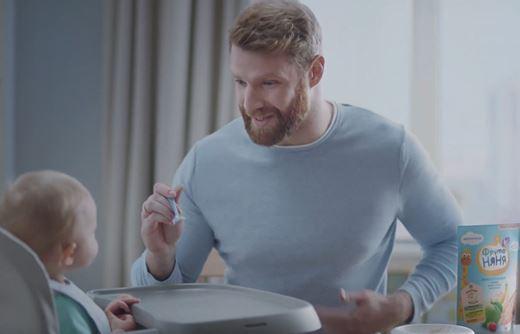 Реклама ФрутоНяня — Пробиотики для пресса (2020)