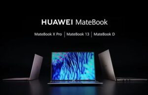 Реклама ноутбуков HUAWEI MateBook (2020)