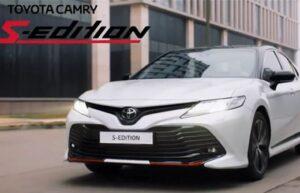 Реклама Toyota Camry S-Edition (2020)