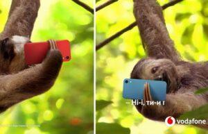 Реклама Vodafone — Множество разговоров (Ленивцы) (2020)