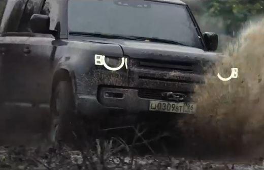 Реклама Land Rover Defender — 007 не время умирать (2020)