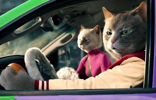 Реклама Аллервэй — Коты в машине (2020)