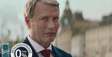 Реклама Carlsberg 0.0 Pilsner Мадс Миккельсен — Безалкогольное (2021)